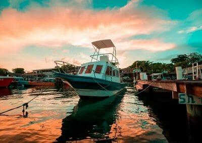West End Divers Resort Splash Inn Dive Center Boat